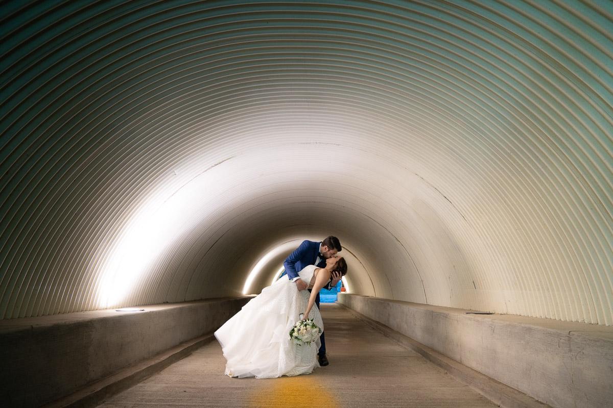 talega golf club wedding tunnel