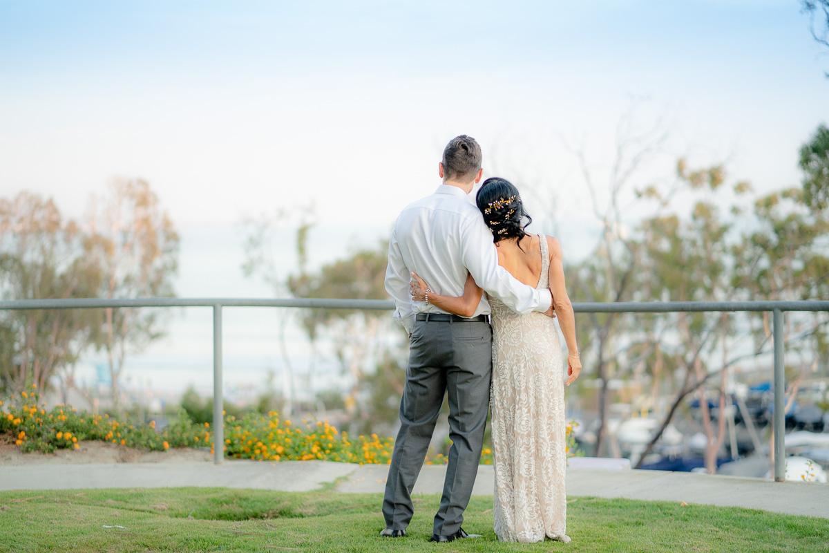 dana point elopement wedding