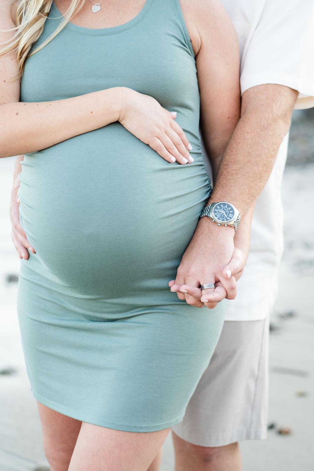 maternity bump