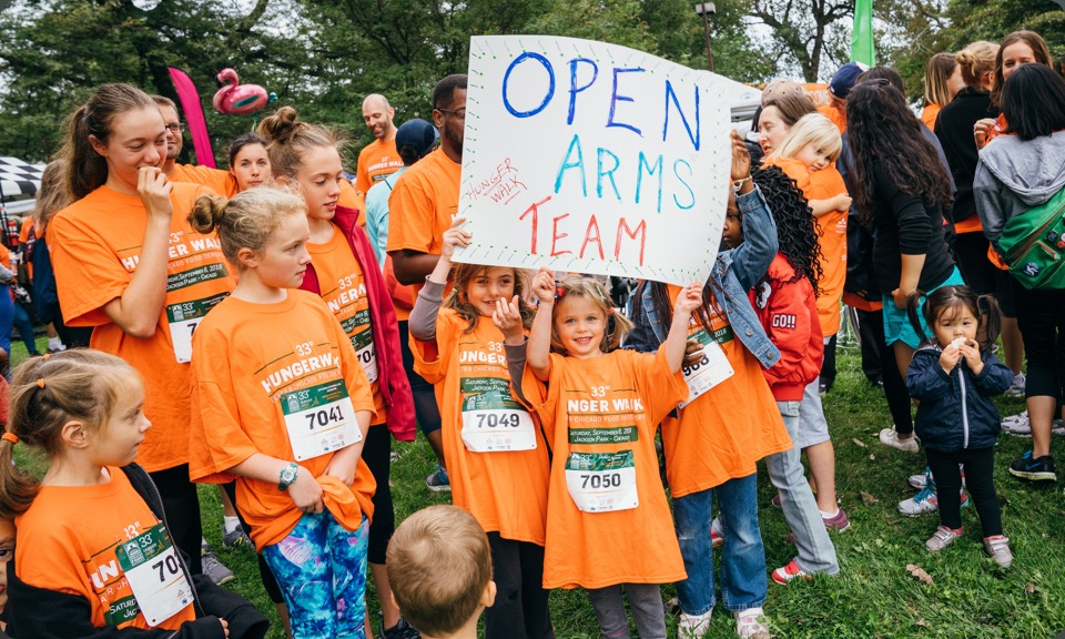 Open Arms Ministry @ 2019 Chicago Food Depository Hunger Walk