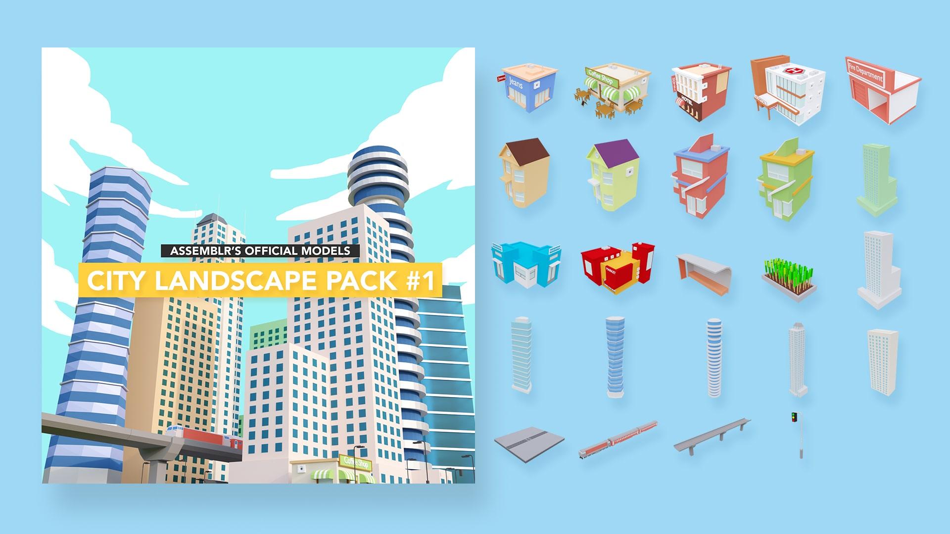 City landscape pack #1