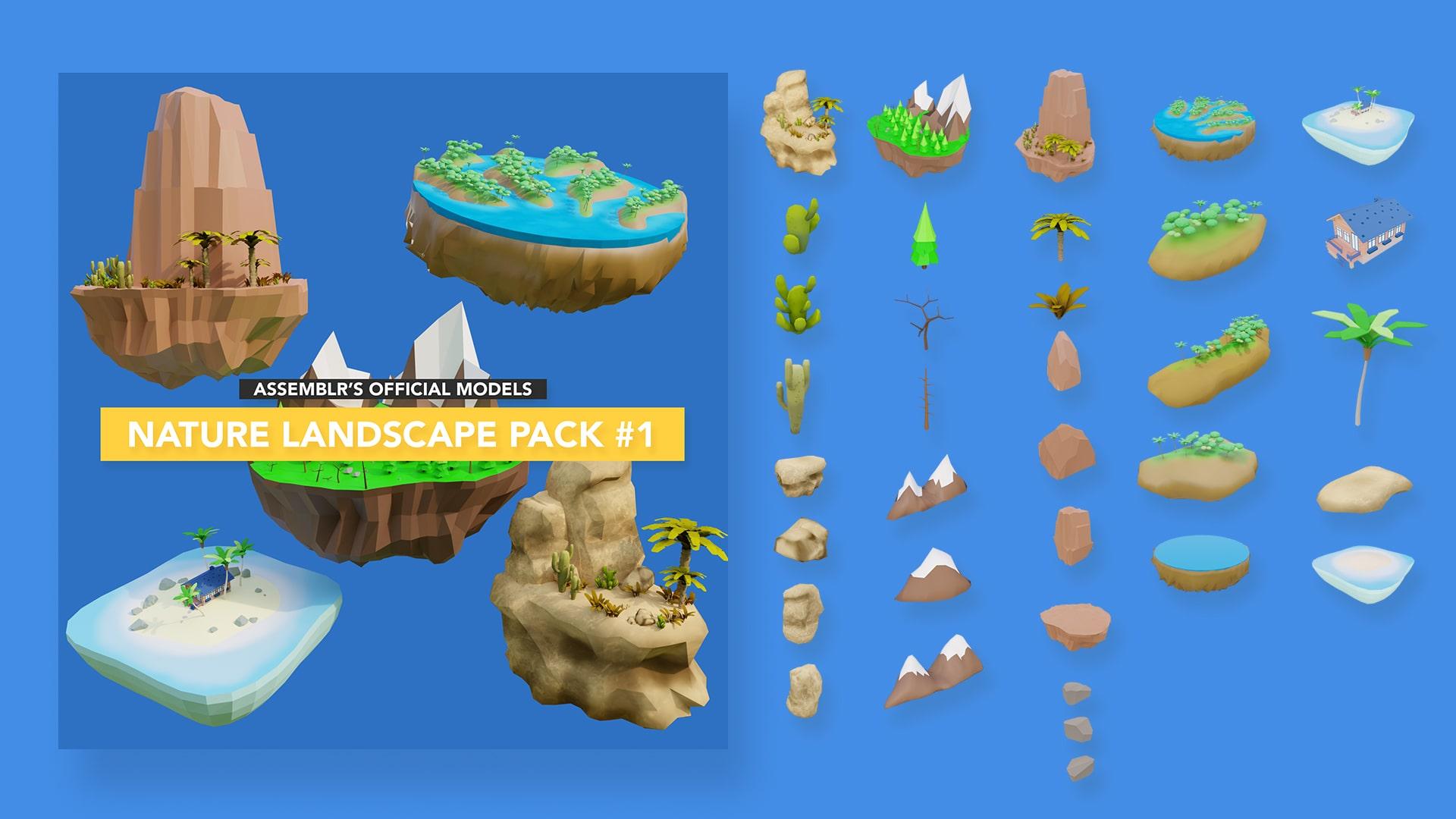 Nature landscape pack #1