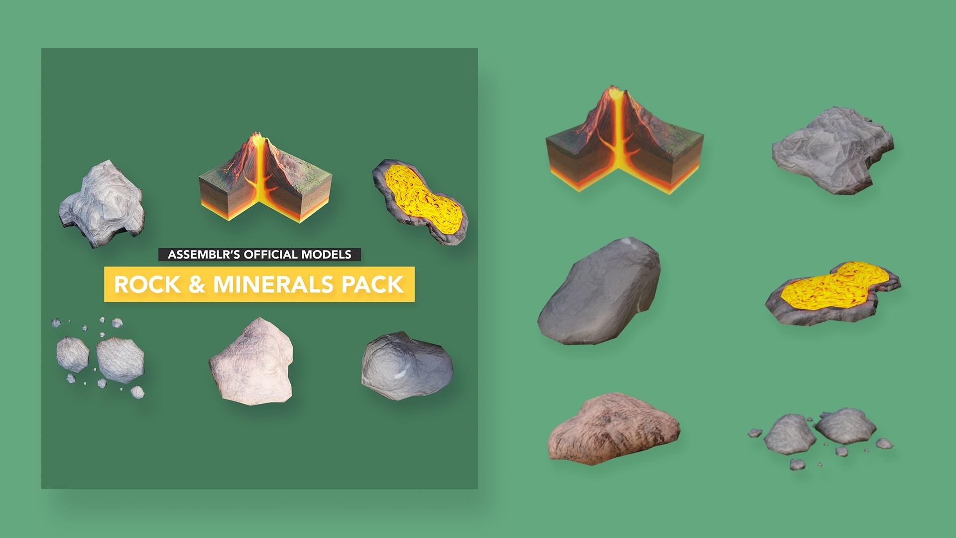 Rock & minerals pack #1