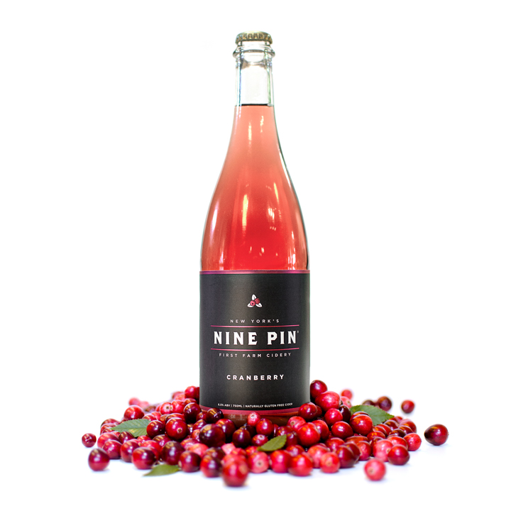This beautiful cider is crafted by co-fermenting our classic blend of New York apples with local cranberries sourced from a bog deep in the Adirondacks. Rich with tart fruit, our cranberry cider evokes classic autumnal flavors to perfectly garnish any festive gathering