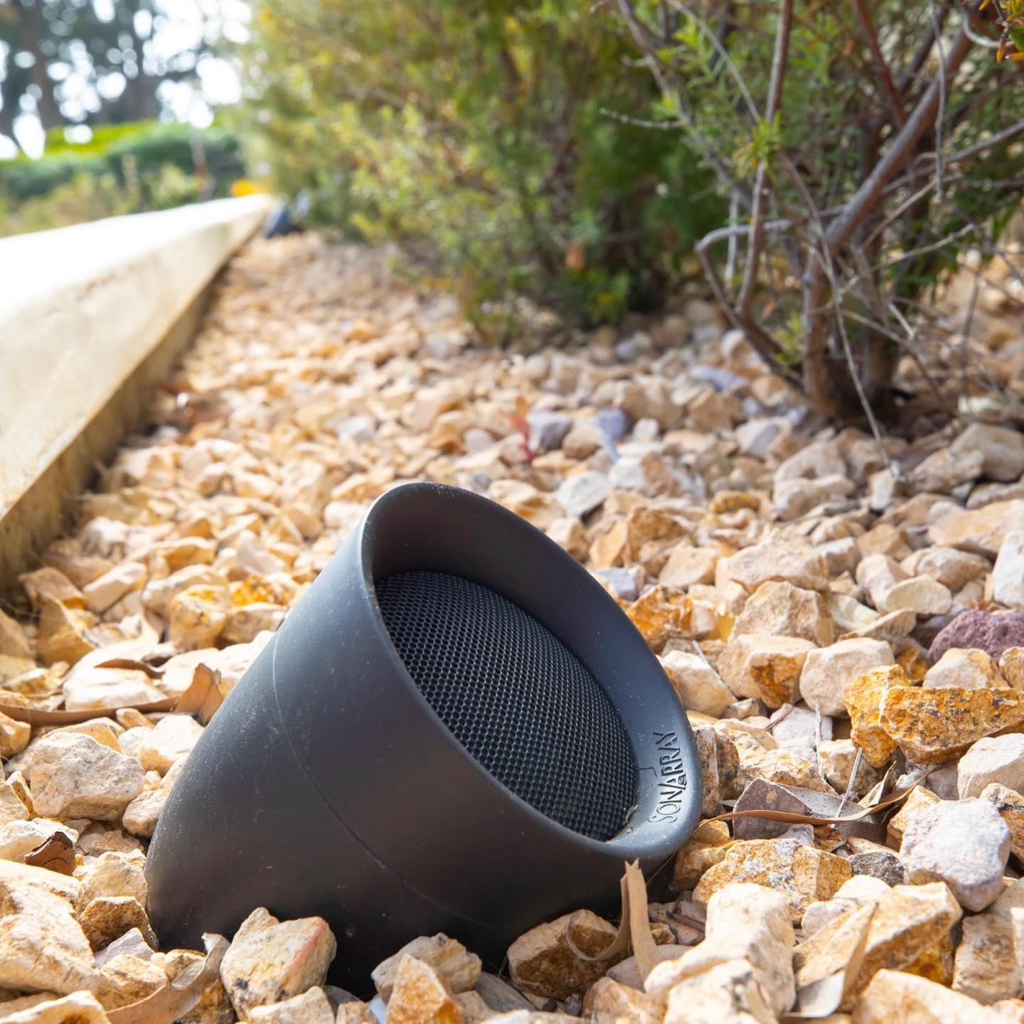 Sonance landscape speakers are a great addition to any outdoor space.  . . #sonance #sonancespeakers #outdoormusic #subwoofer #liveoutdoors #sonarray #savantsystems #outdoorparty #reggeasunday