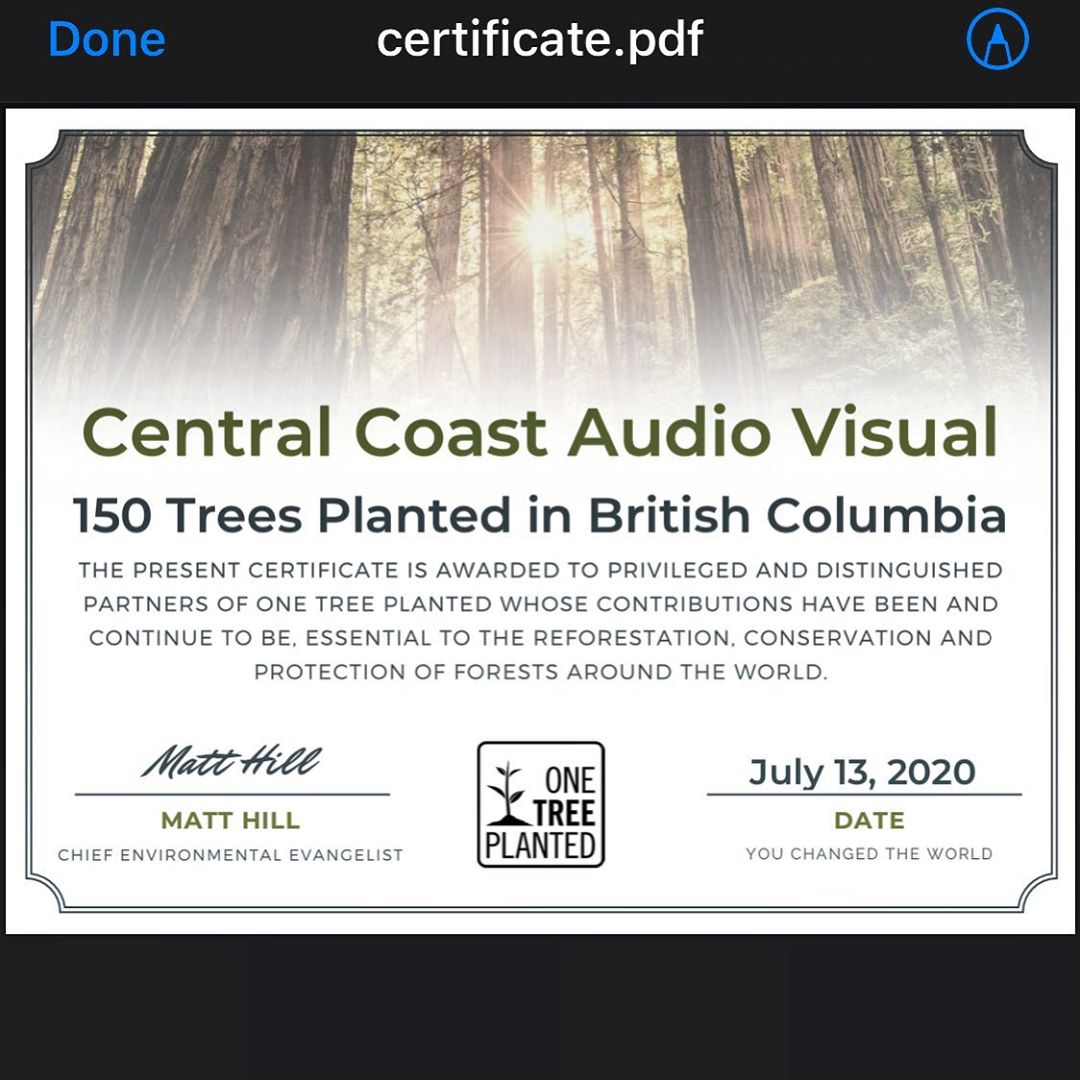 Our industry consumes a lot of cardboard shipping materials. We felt the need to give back. Every month we will donate 50 planted trees to help offset our impact.