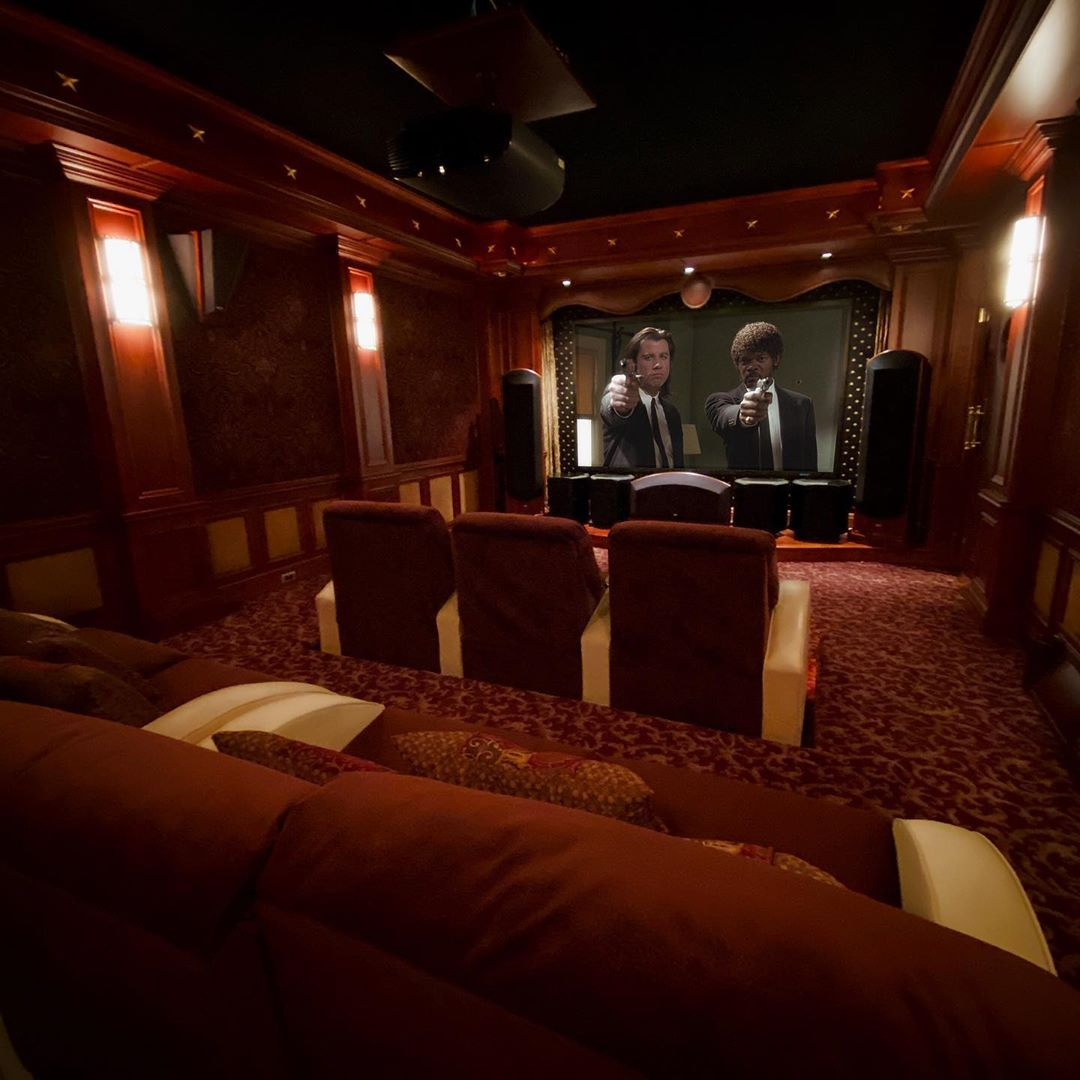 This theater received a nice upgrade to incorporate Focal in ceiling Dolby Atmos speakers. We added a storm audio processor to handle the additional speakers. With the Dirac EQ this room may be the best sounding room we've ever heard!
