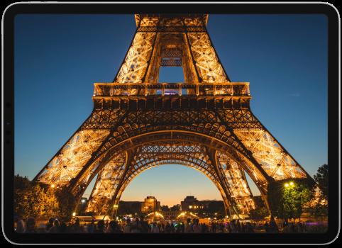 iPad Paris