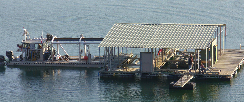 In progress dock build