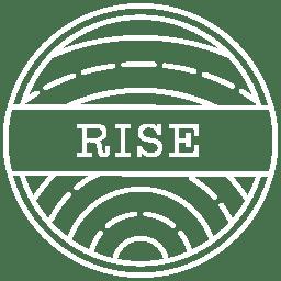 Rise Logo White