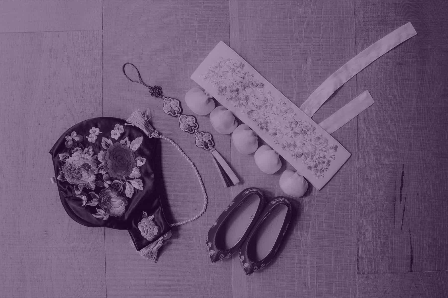 Korean girl's accessories