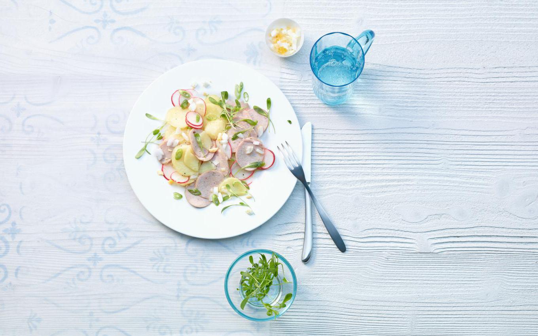 Cervelat-Kartoffel-Salat Rezept