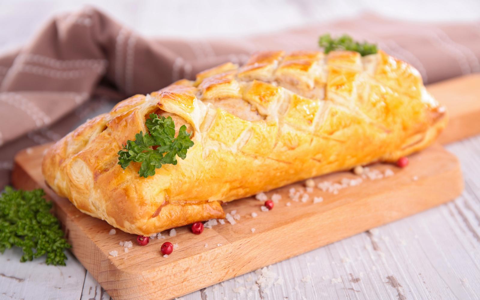 Filet im Teig – Rezept mit Fenchel