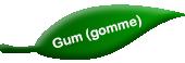 Gomme (Gum)