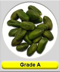 peeled pistachio kernel grade A