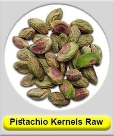 raw pistachio kernel (Shelled pistachio)