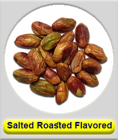 Salted, Roasted and flavored pistachio kernel (Shelled pistachio)