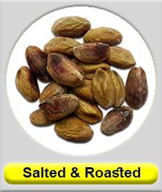 Salted and roasted Pistachio kernel (Shelled kernel)