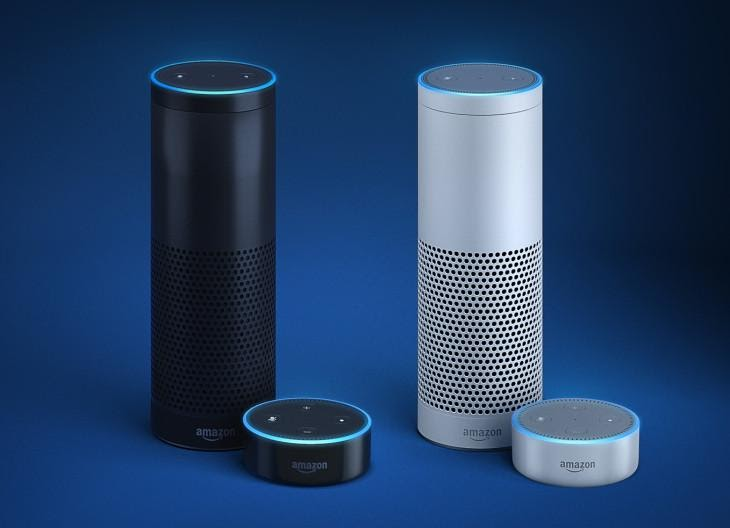 Amazon's Alexa-powered Echo and Echo Dot arrive in the UK and ...