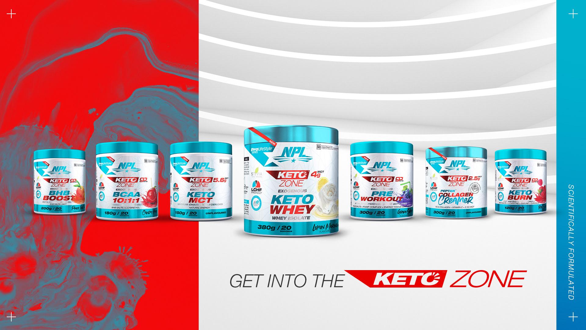 NPL's Keto Zone product range