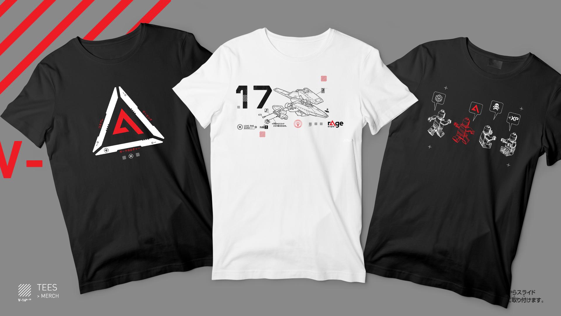 rAge expo 2019 T-shirt apparel designs