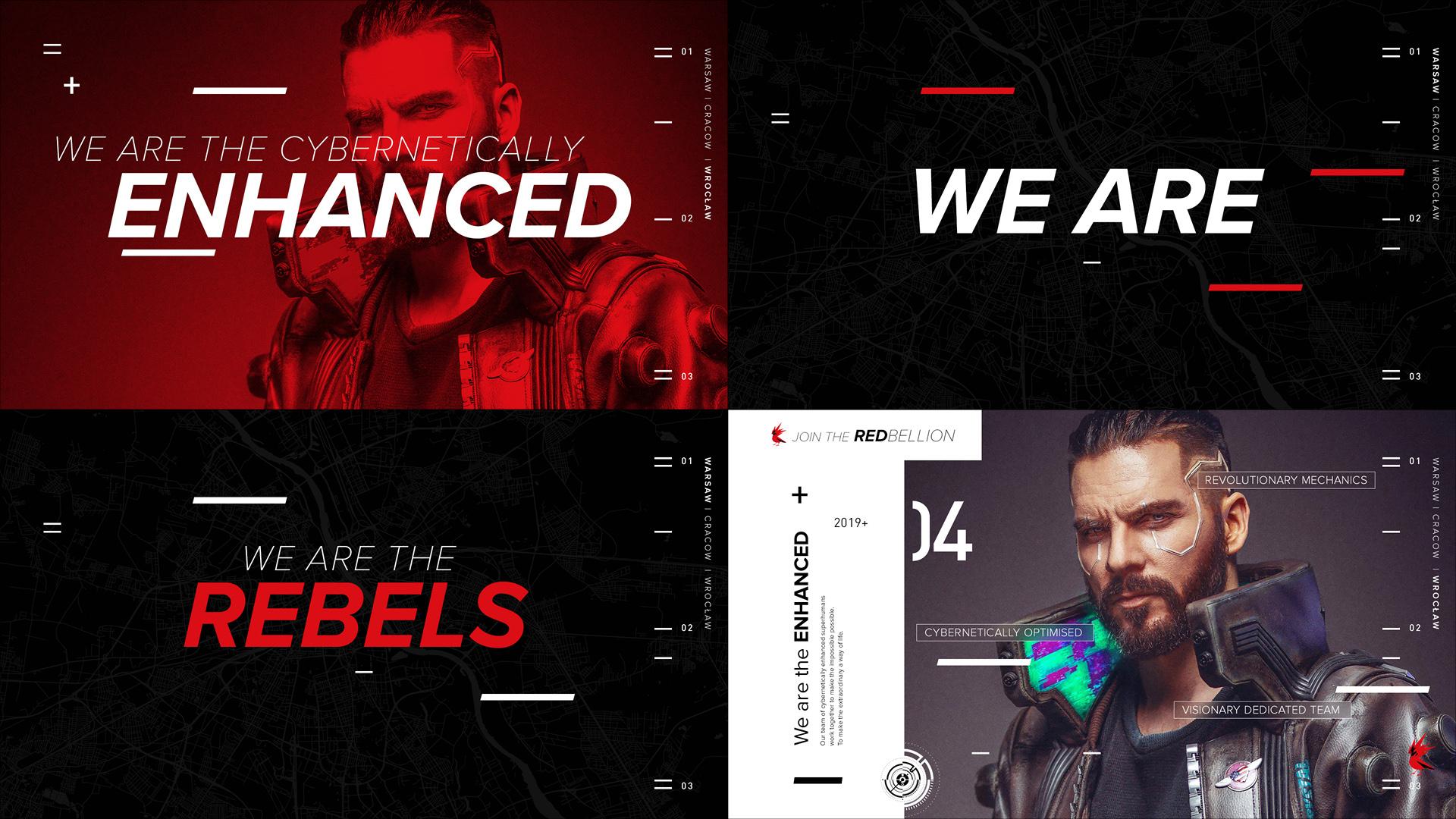 Cyberpunk 2077 designs for CD Projekt Red