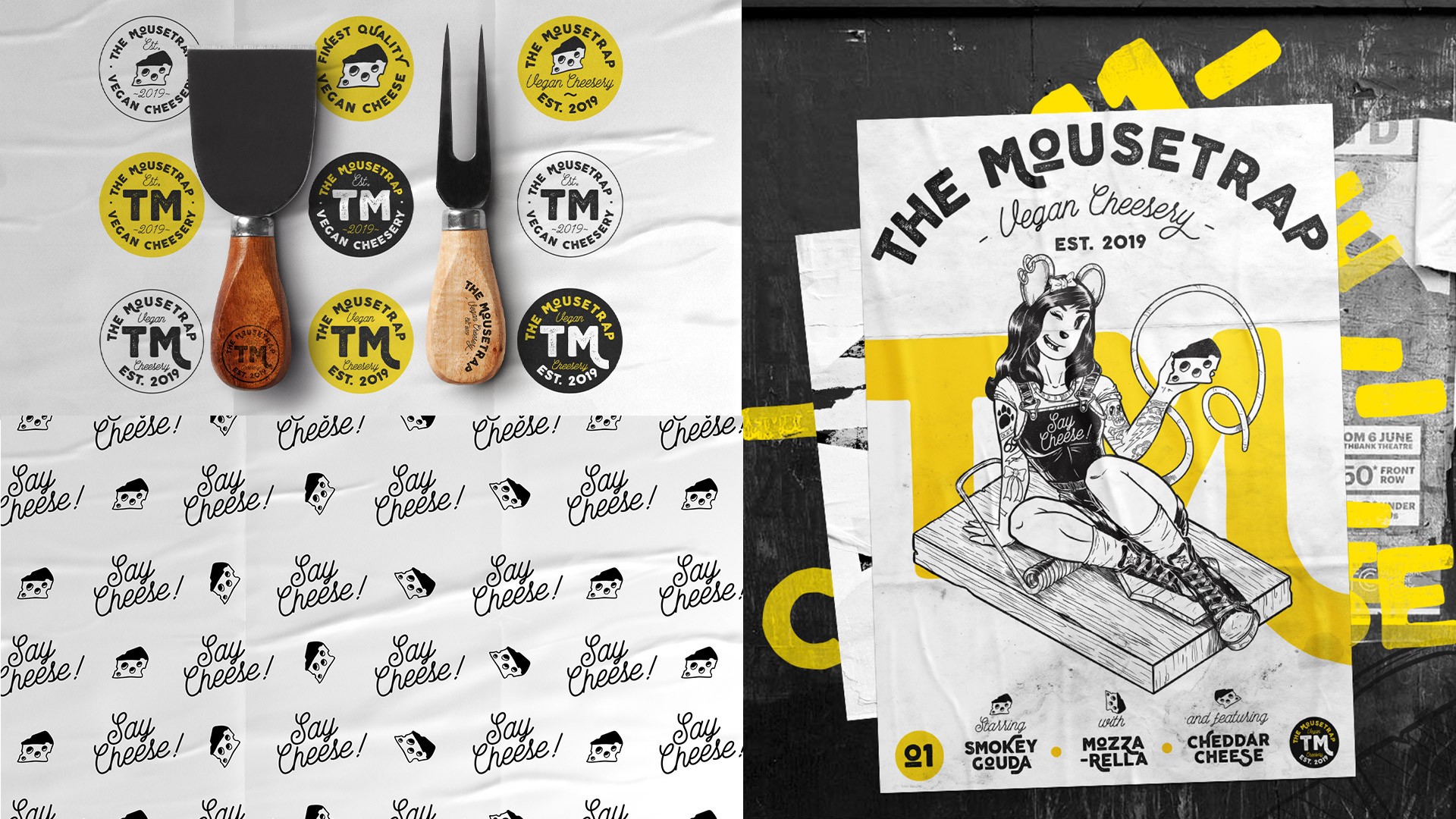 The mousetrap use of branding across different executions