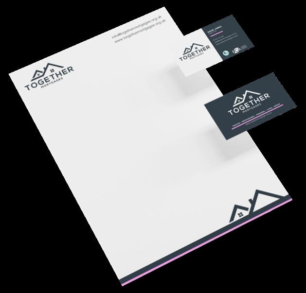 Letterhead Design Together Mortgages