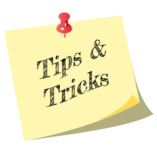 Tips and Tricks Post-it