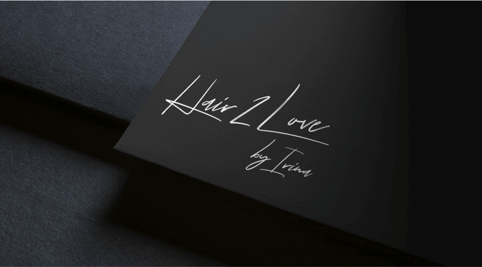 Logo Design of Hair2Love