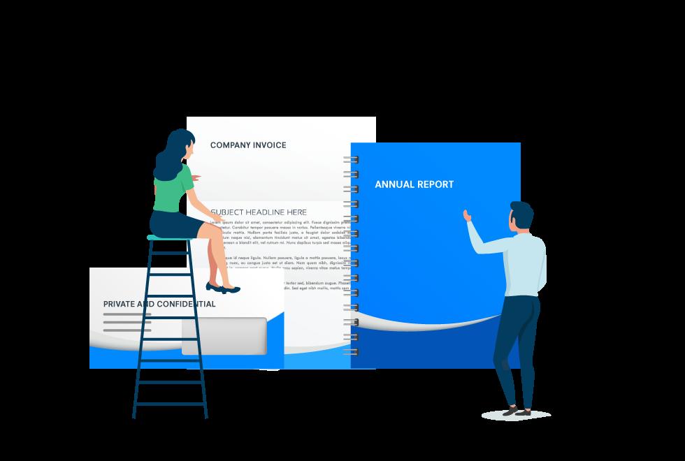 Corporate Literature Design image