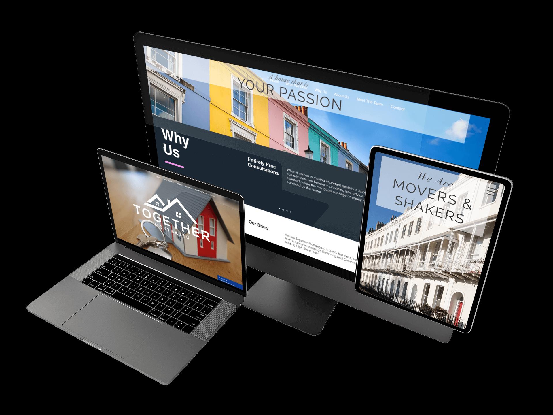 Web Design Weston Super Mare Inspired Works