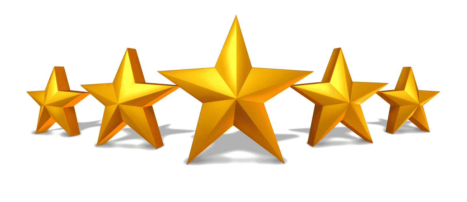 5-star customer rating