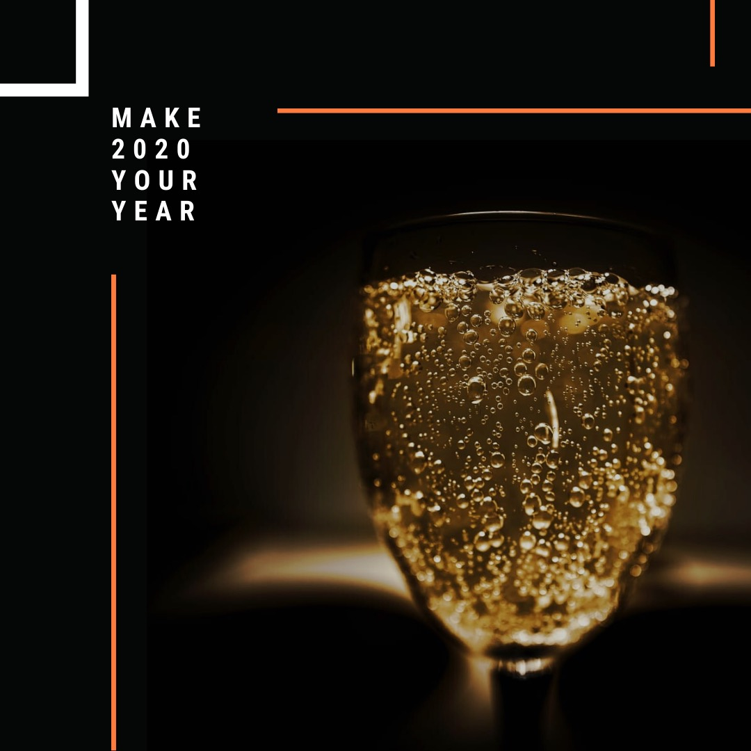 Champaign Digital Instagram post over 2020 succesvol maken