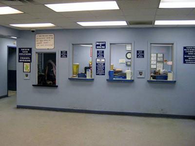 medical office reception