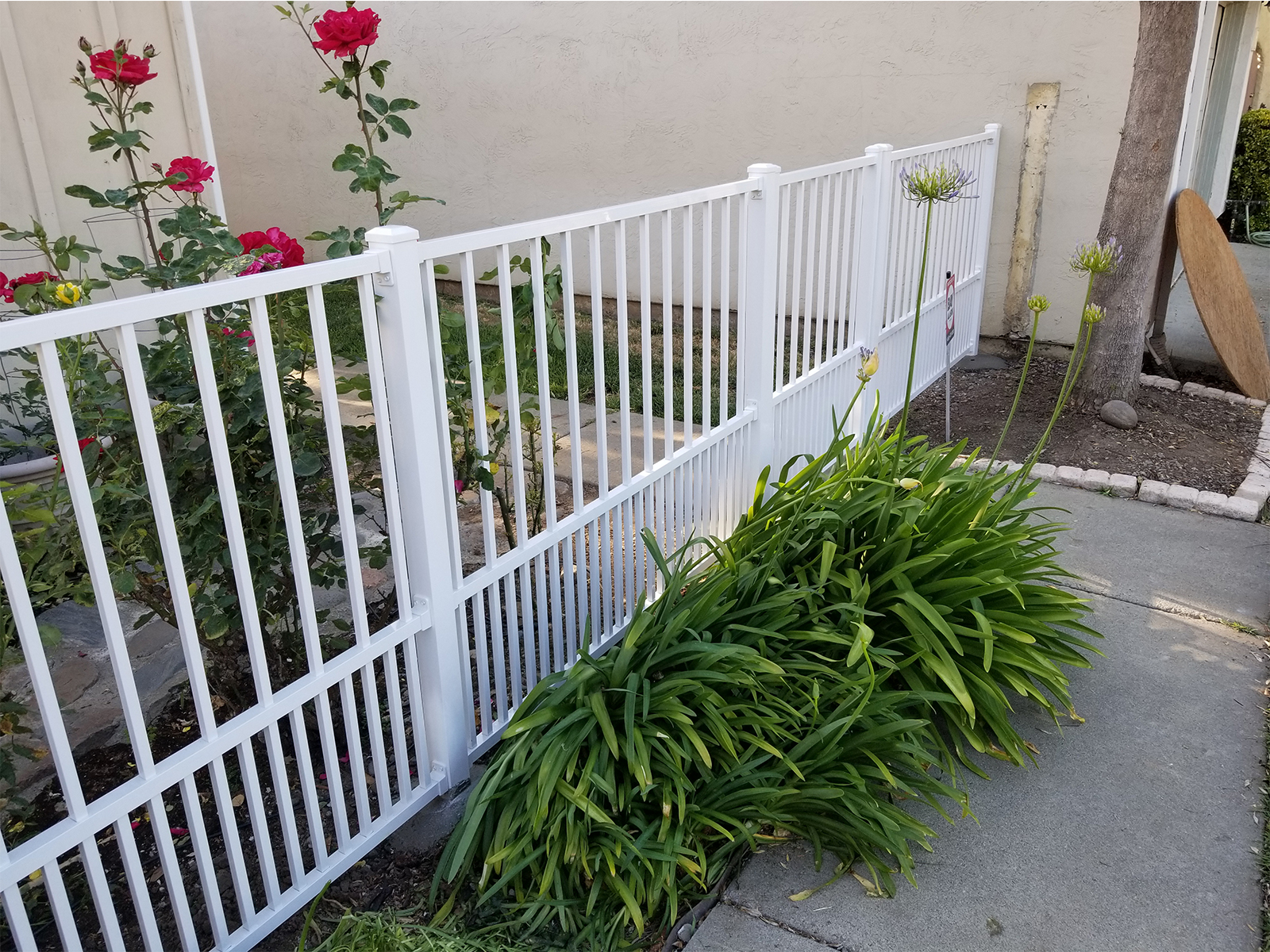 Aluminum Fence Panel Ascot Puppy Picket 3 Channel
