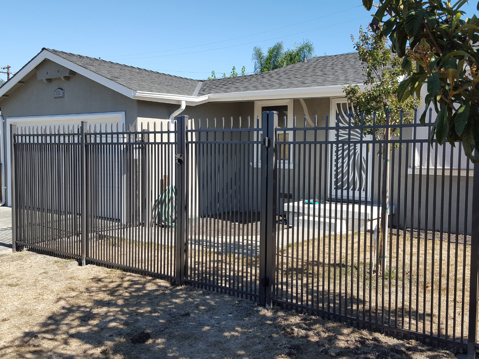 Aluminum Fence Panel Belmont Royal 3 Channel