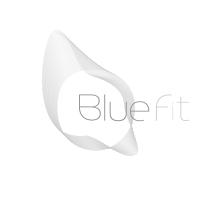 Logo of BlueFit gym business chain