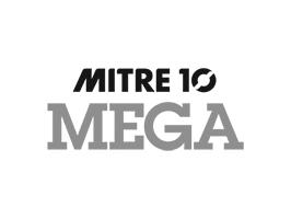 Logo of Mitre 10 MEGA hardware store