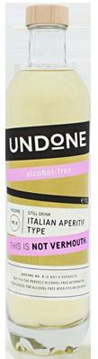 Undone No.8  Italian Aperitif Type Not Vermouth alkoholfrei
