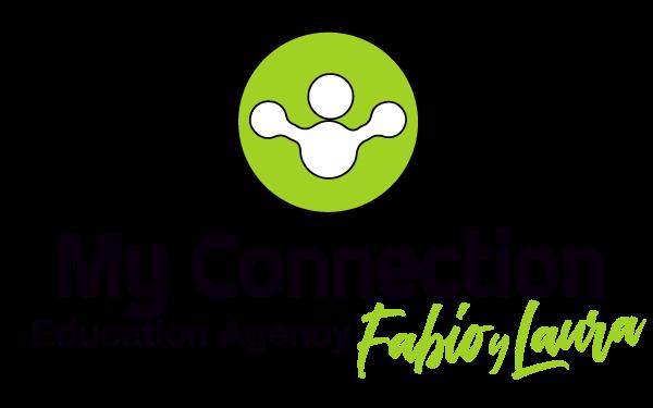 My Connection Education Agency Fabio y Laura Logo