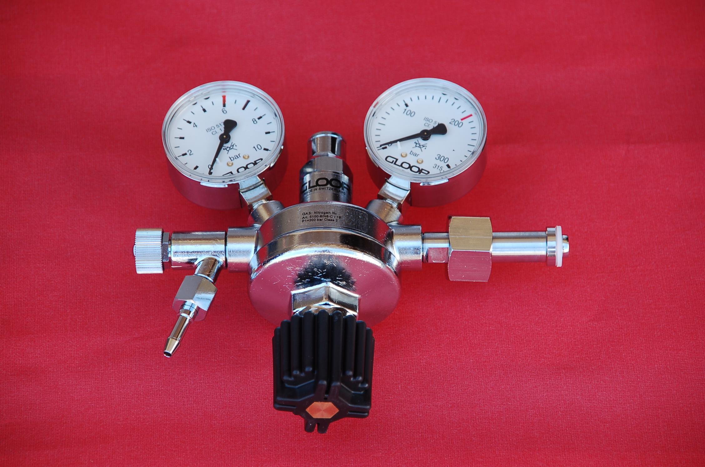 Mano-détendeur - CO2 - Azote - Oxygène