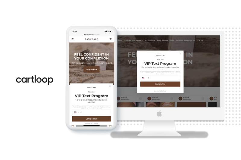 Cartloop Launches Popups: a Seamless Way to Grow Your SMS & Email Subscriber Lists