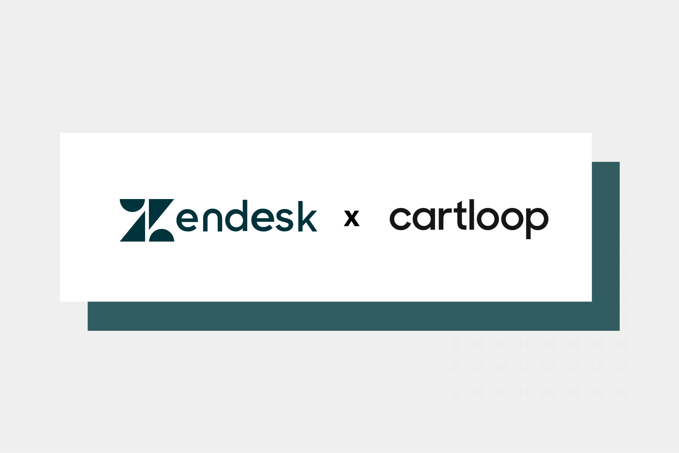 New Integration Available: Zendesk x Cartloop