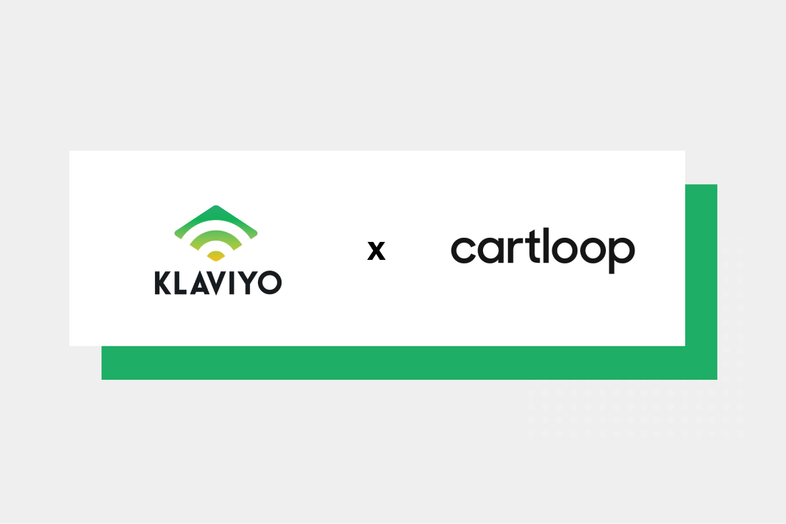 New Integration Available: Klaviyo x Cartloop