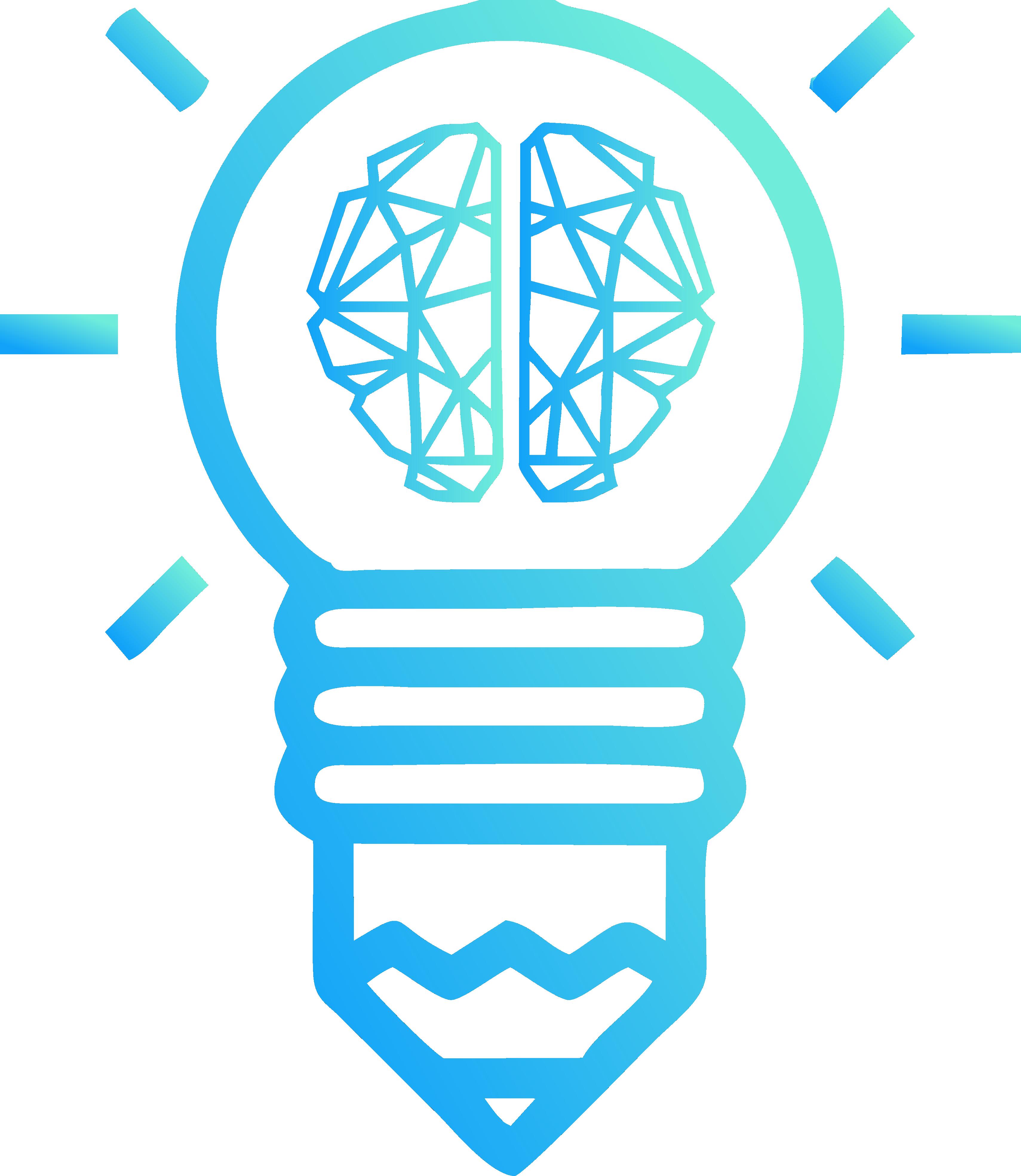Lampada transformacional azul