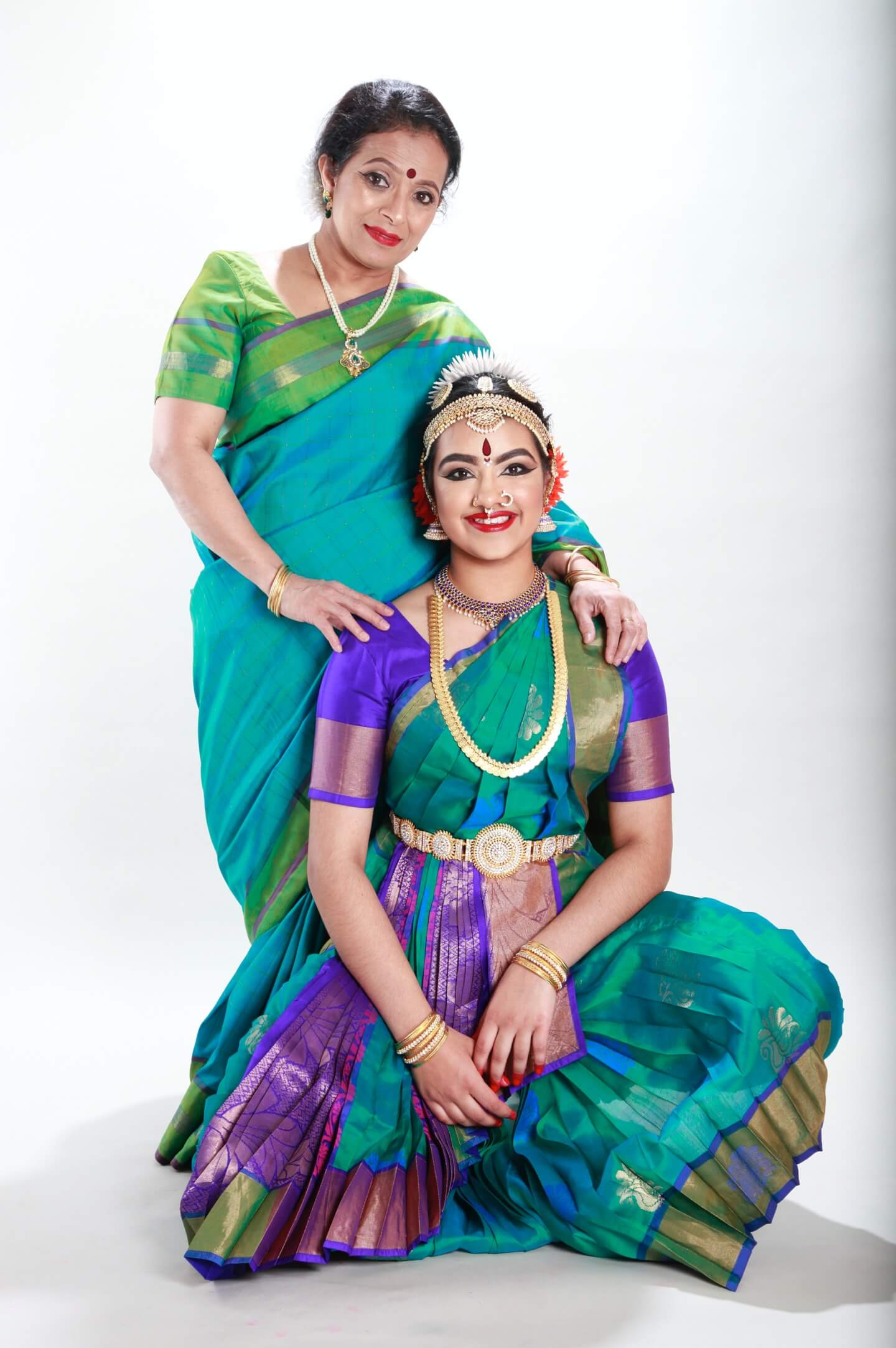 arangetram graduate and teacher chitraleka bolar