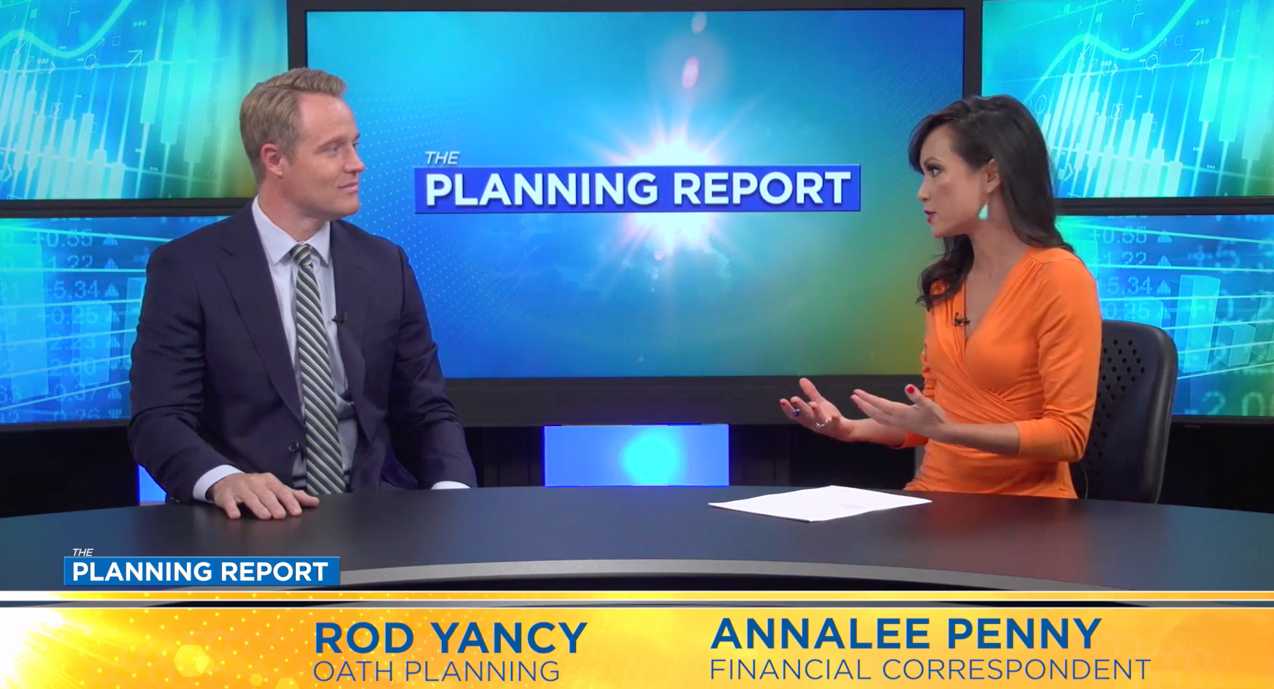 Rod Yancy of Oath Planning on The Planning Report with Annalee Penny