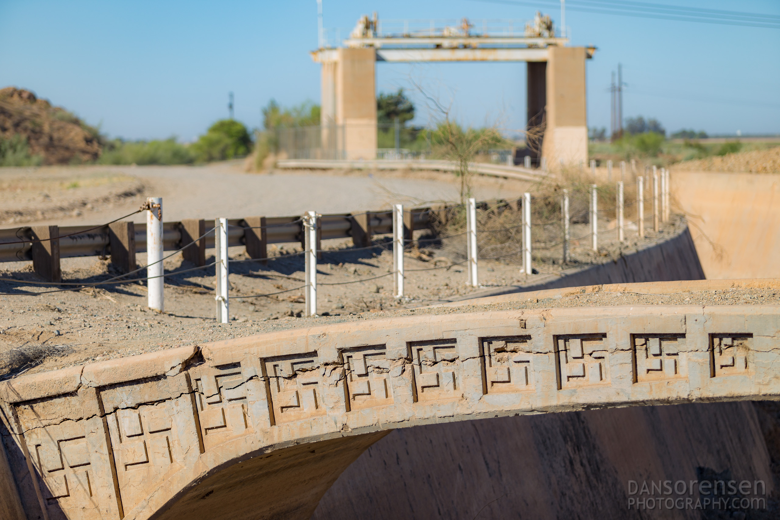 Swastika Bridge Near Yuma Arizona