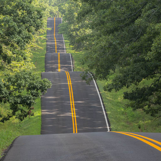 Rolling Highway 19 in Missouri